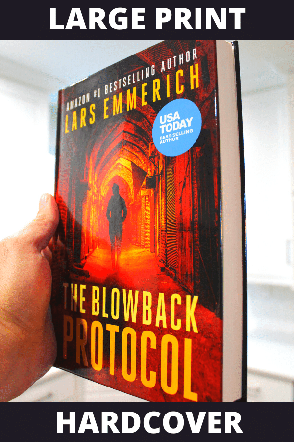 The Blowback Protocol (Hardcover - Large Print)