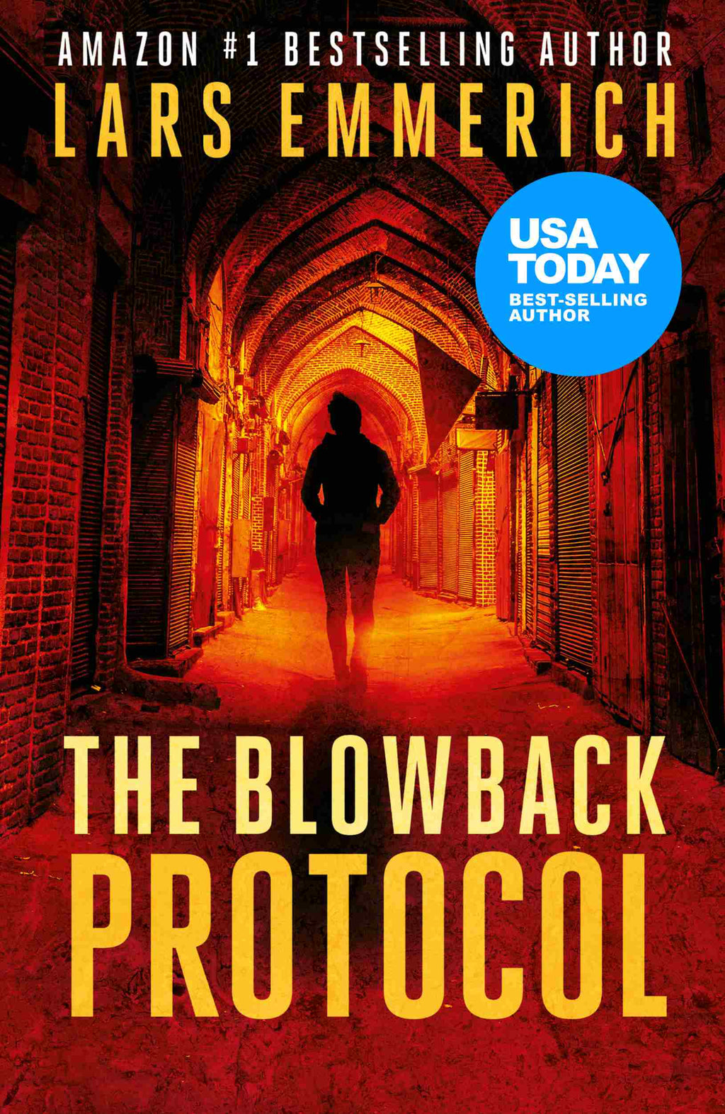 The Blowback Protocol (Paperback - Large Print)