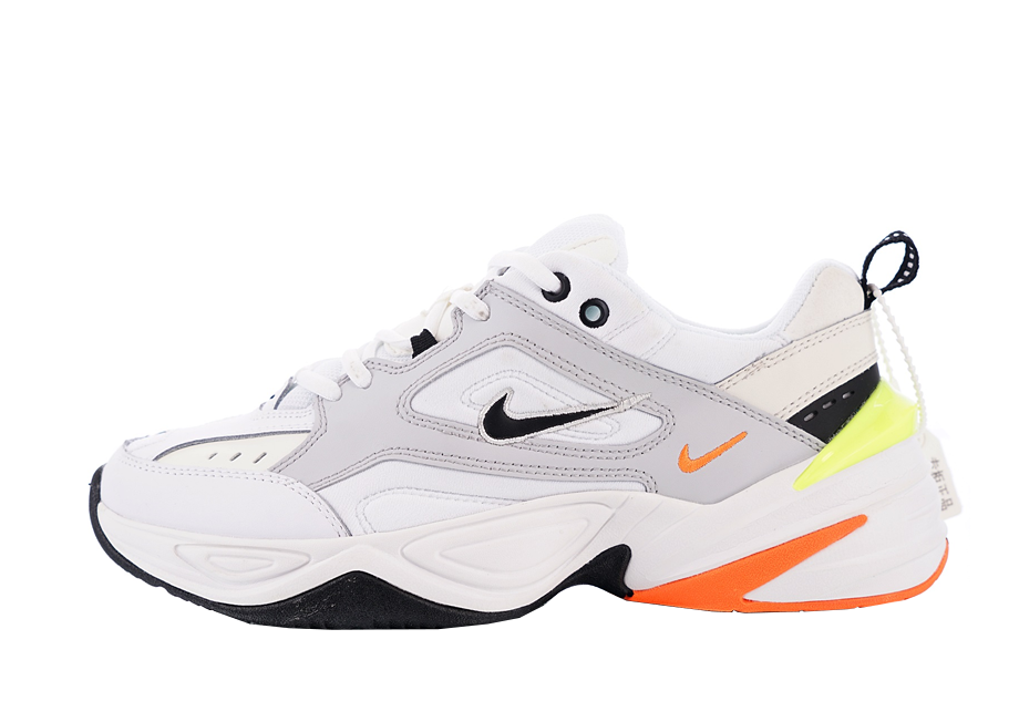 reliable quality promo code big sale Nike M2K Tekno White Orange Yellow