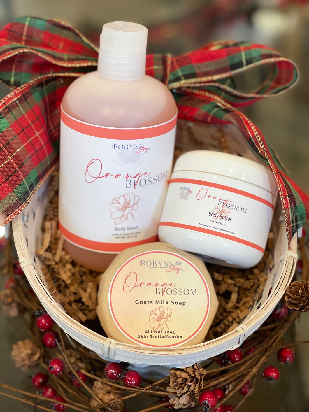 """Orange Blossom"" Gift Set"
