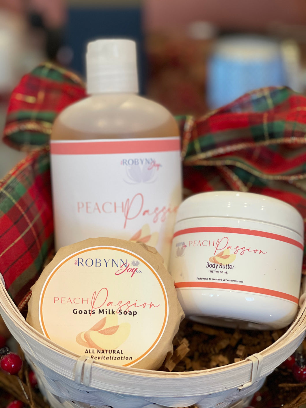 """Peach Passion"" Gift Set"