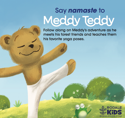 Meddy Teddy: A Mindful Yoga Journey - New Children's Book