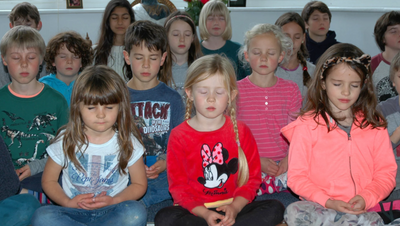 Close your eyes and breathe: schools sign up to mindfulness