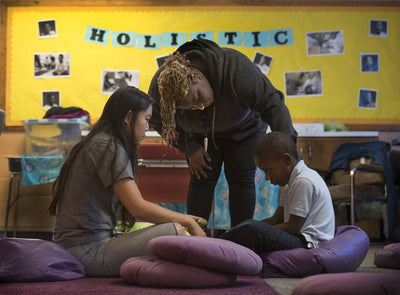 How mindfulness practices are changing an inner-city school