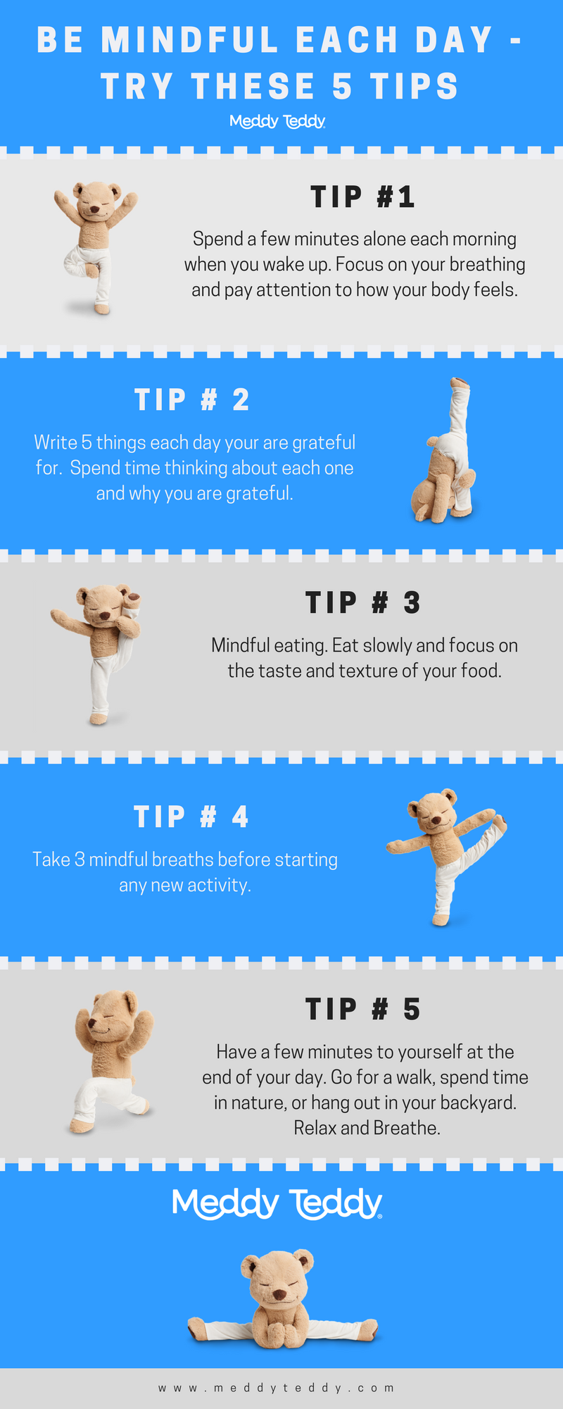 5 Tips for Being More Mindful