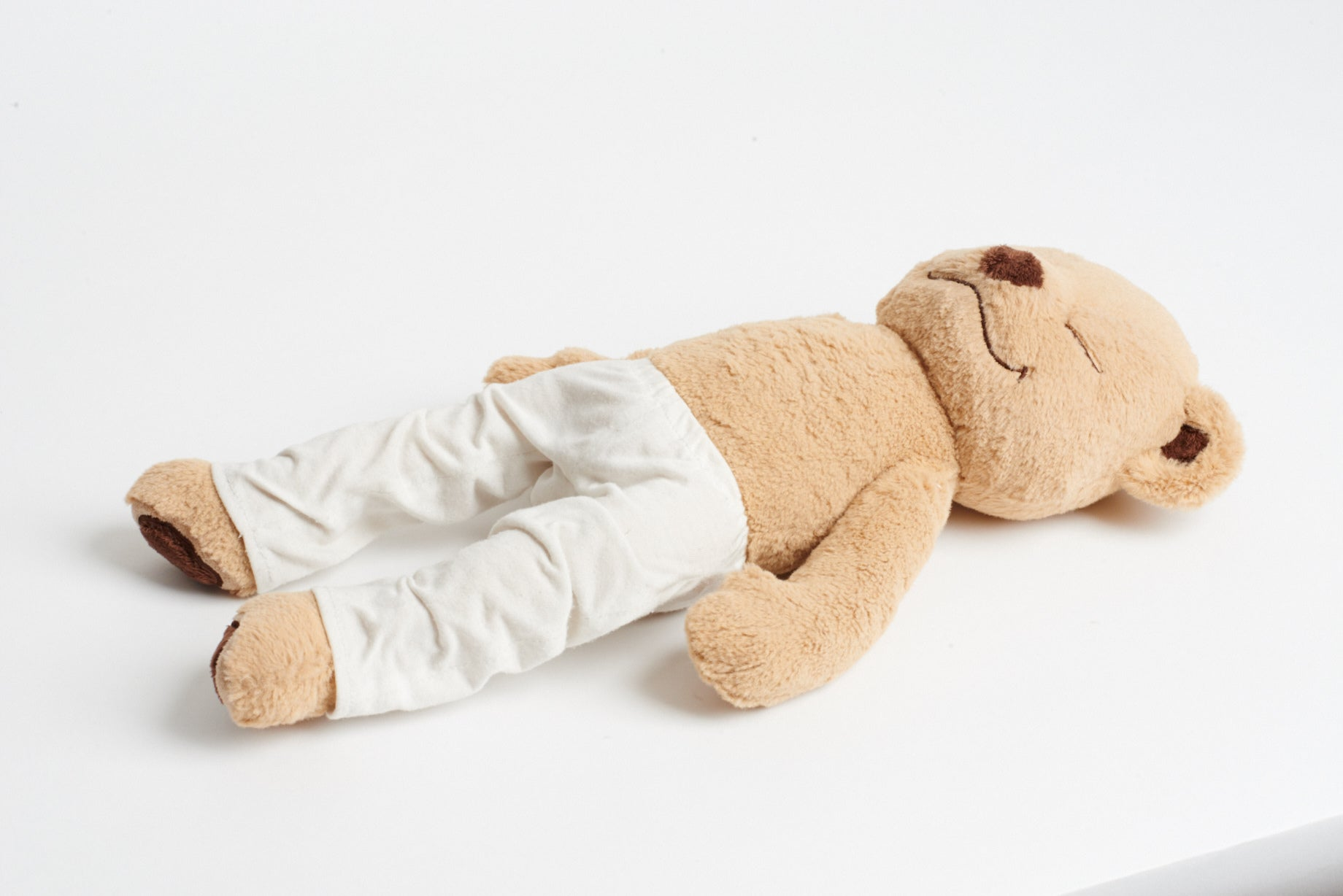 Learn How to do Corpse Pose with Meddy Teddy