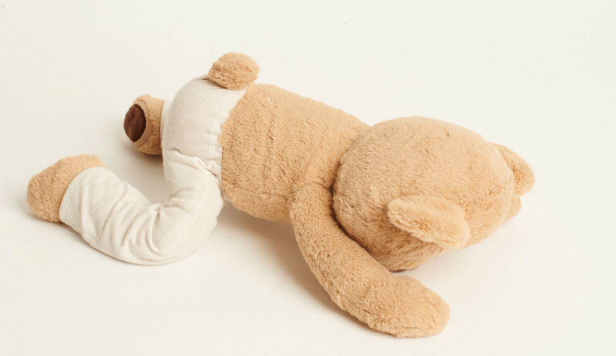 Learn How to do Child's Pose with Meddy Teddy
