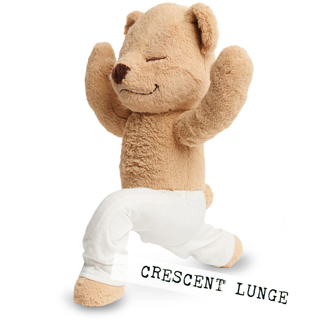 Meddy Teddy teaches yoga and mindfulness