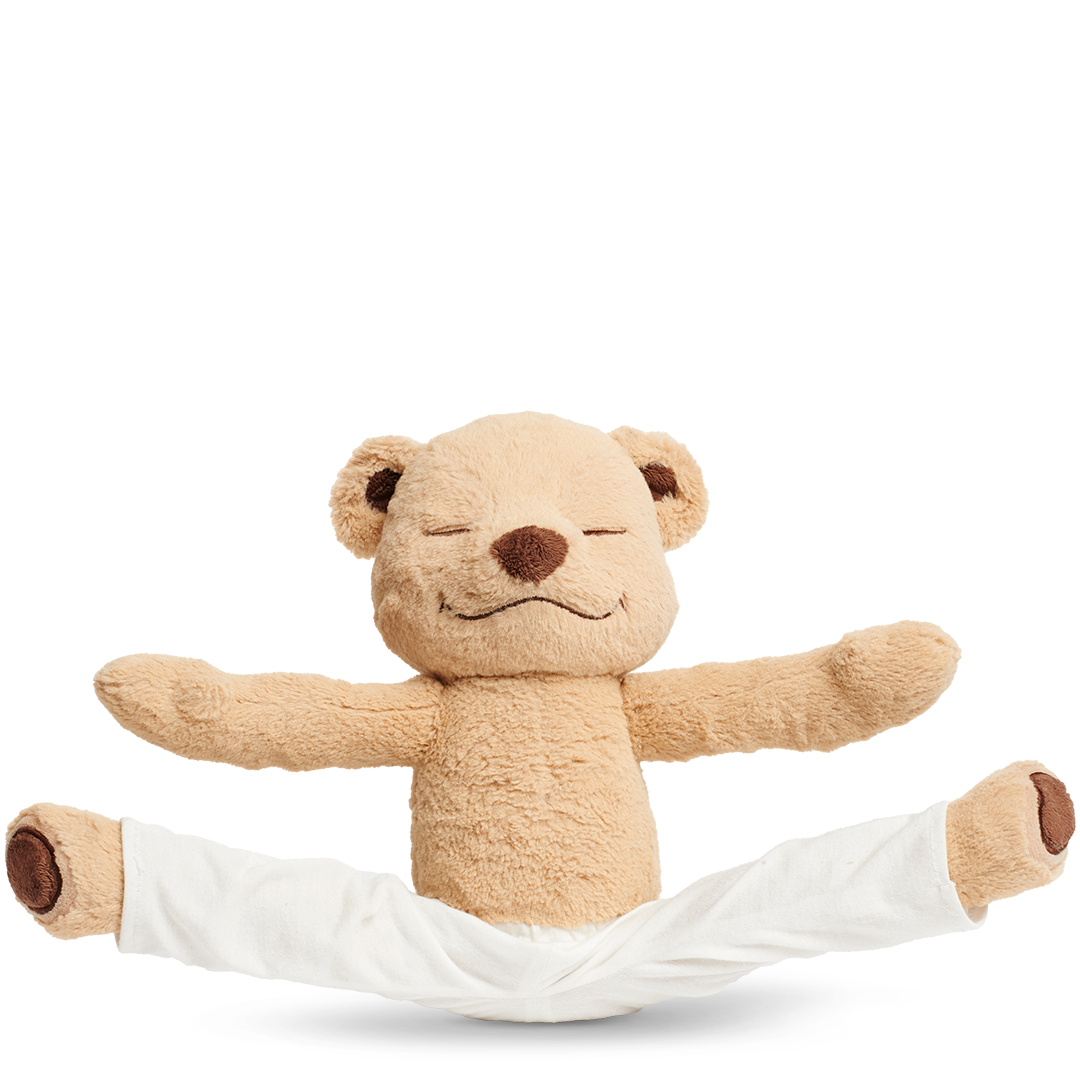 Kids can learn yoga with Meddy Teddy