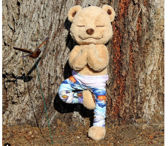 Tree Pose Meddy Teddy