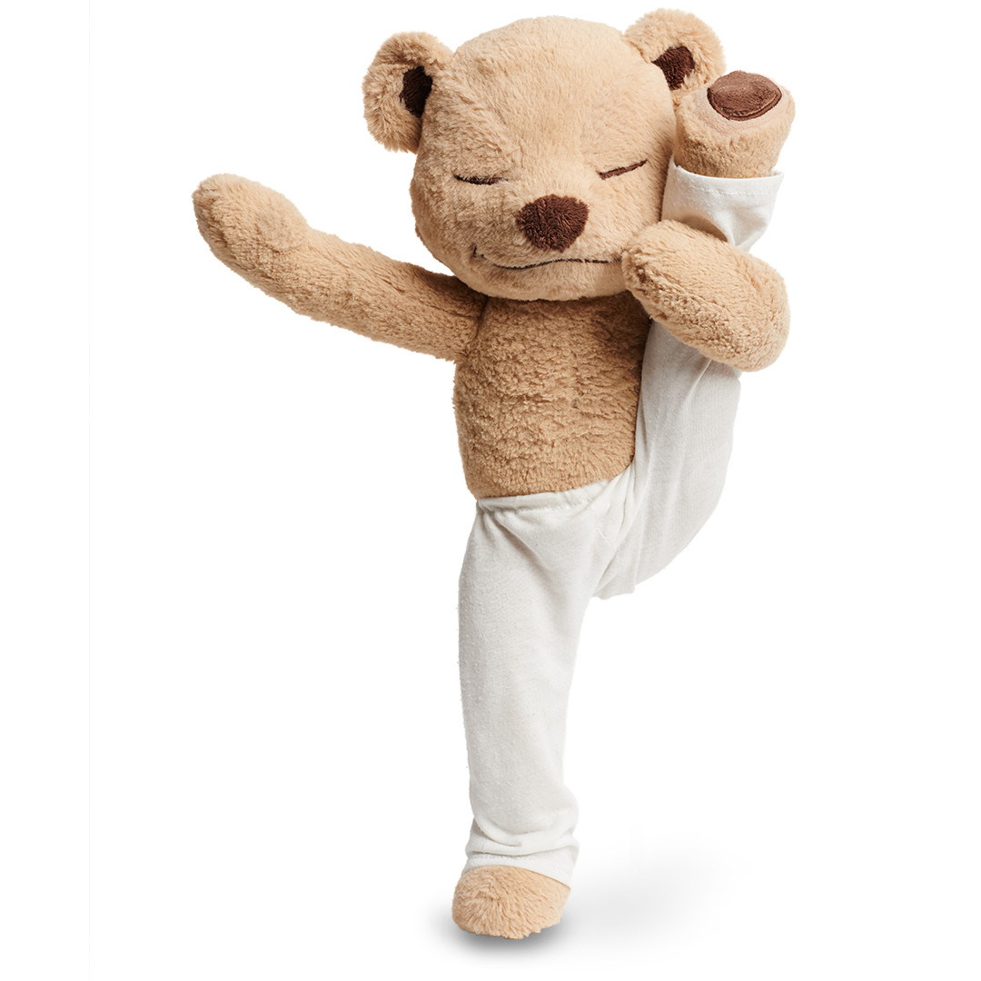 Balancing Yoga Poses with Meddy Teddy