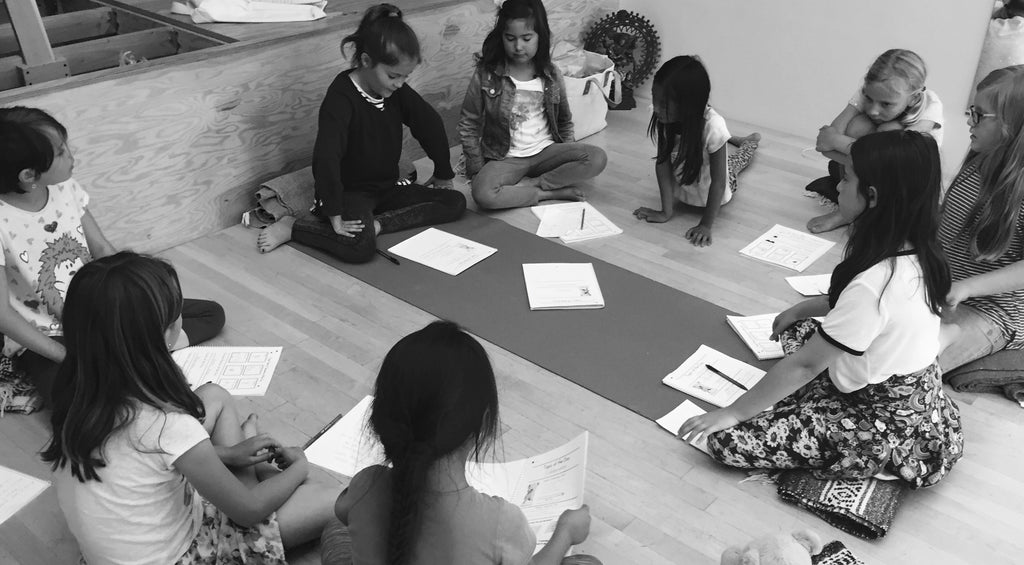 kids learning mindfulness
