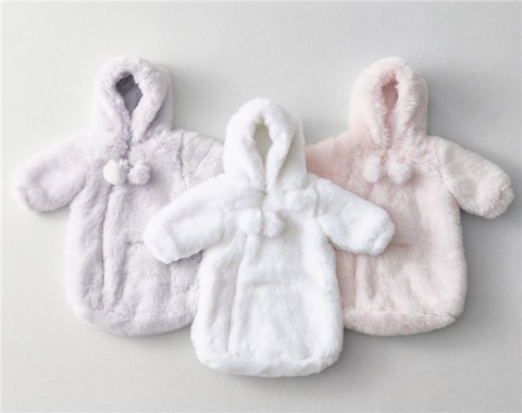 Valentines day ideas 46 gifts for everyone on your list meddy for baby luxe faux fur pom pom bunting 34 rh baby child negle Image collections