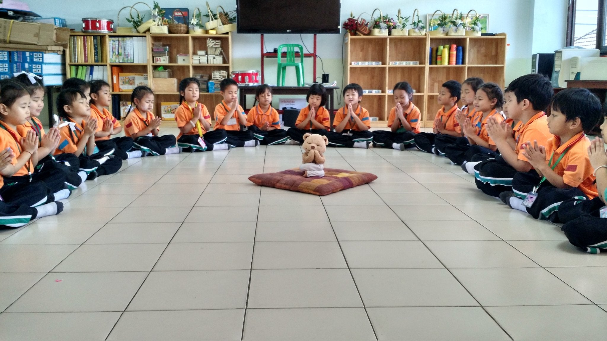 Classroom Meditation with Meddy Teddy