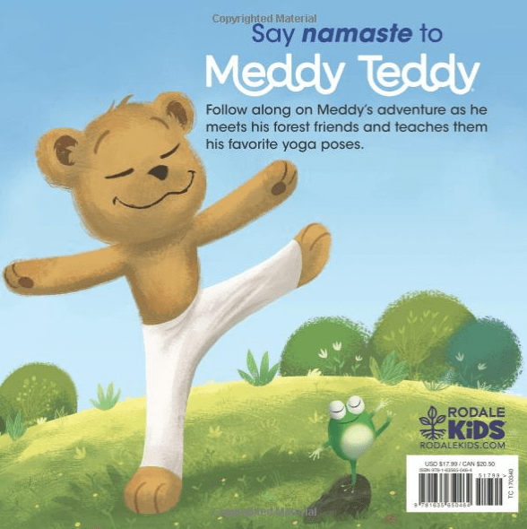 Meddy Teddy: A Mindful Yoga Journey - Book