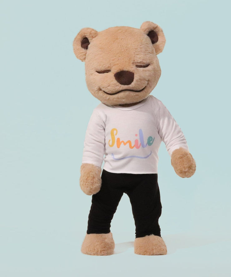 Smile Shirt - Yoga T-Shirt for Meddy Teddy -