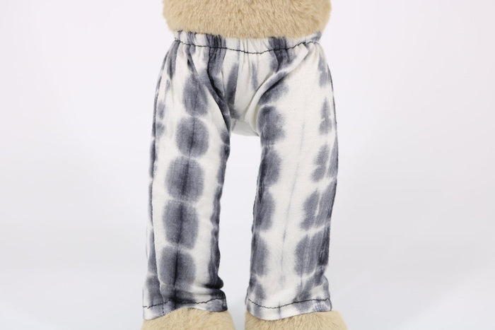 White Tie Dye Leggings Meddy Teddy