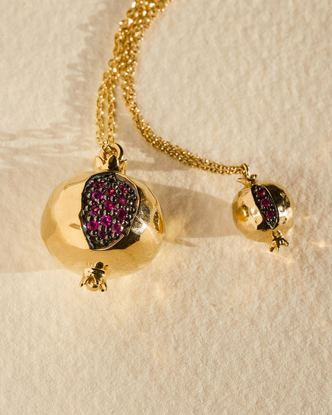 Pamela Love Jewelry Ruby Hera Pendant