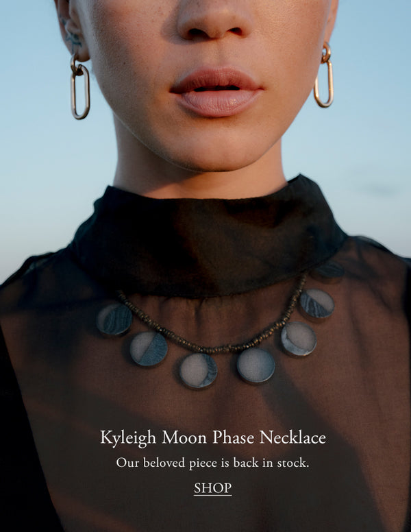 Pamela Love Jewelry Kyleigh Moonphase Necklace