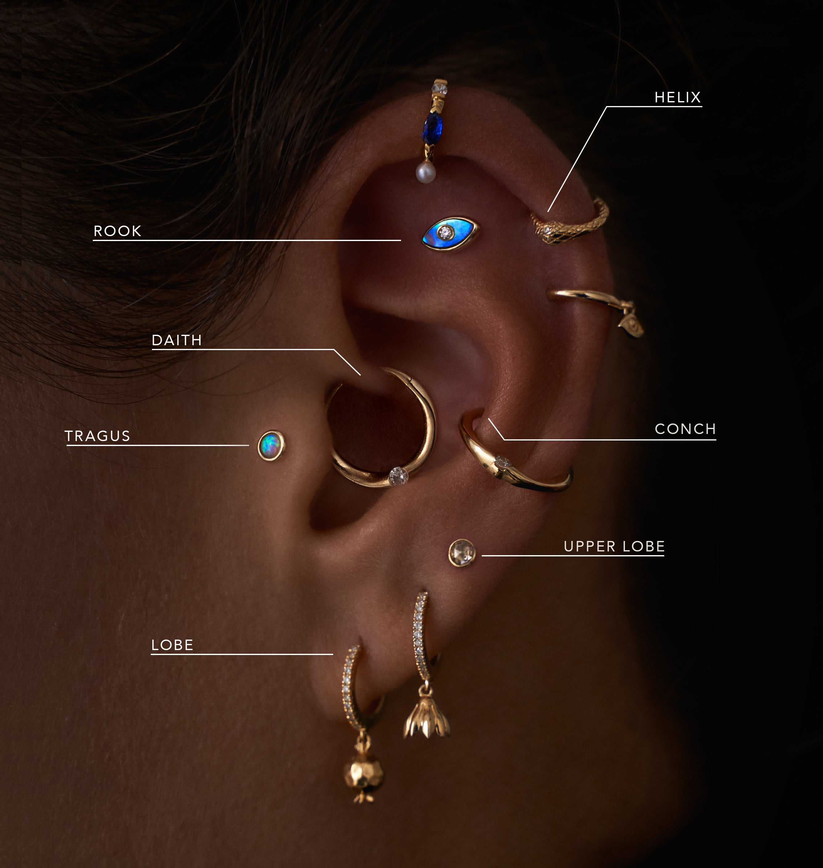 Pamela Love Piercing Guide