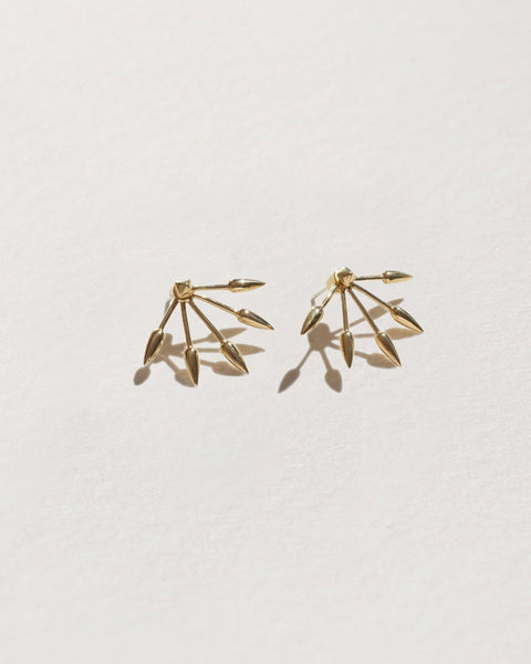 Pamela Love Five Spike Earrings