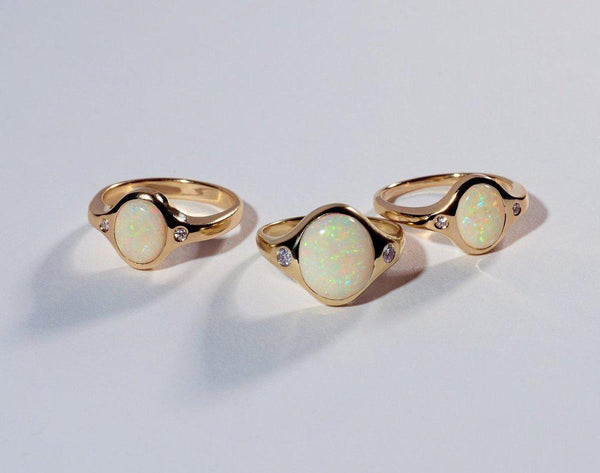 Pamela Love Jewelry Opal Essential Ring