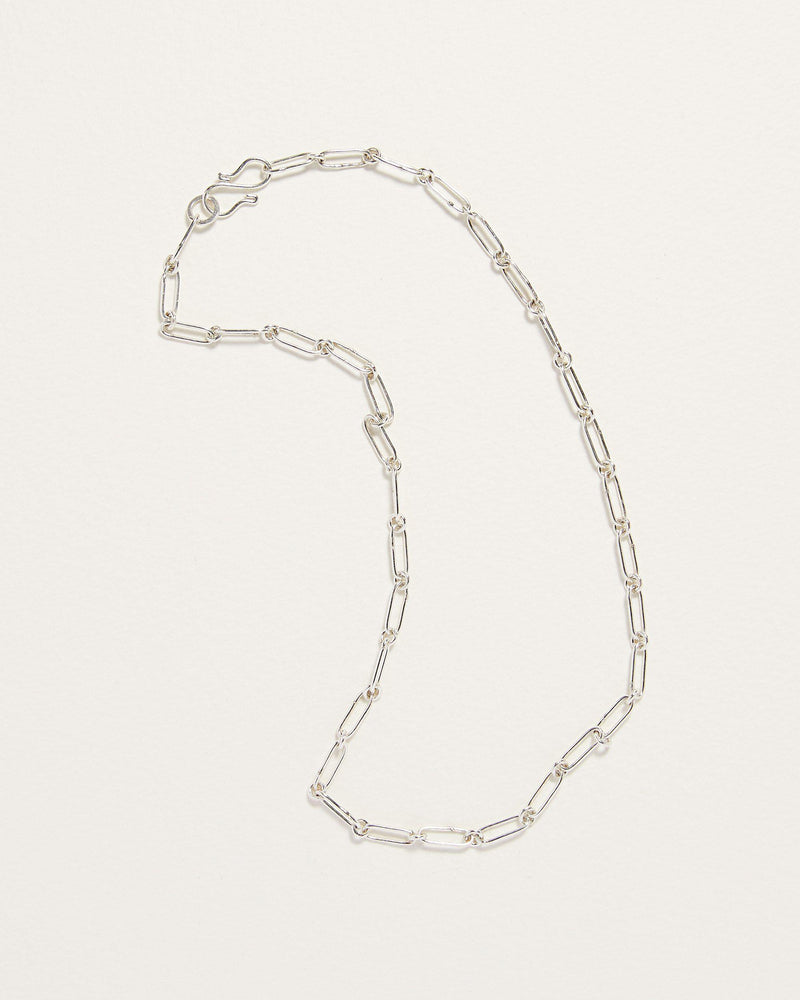 handmade sterling silver fiona chain necklace