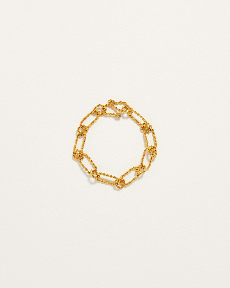 gold plate chain link bracelet