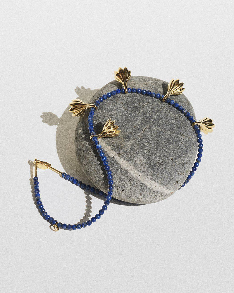 anemone lapis necklace by Pamela Love