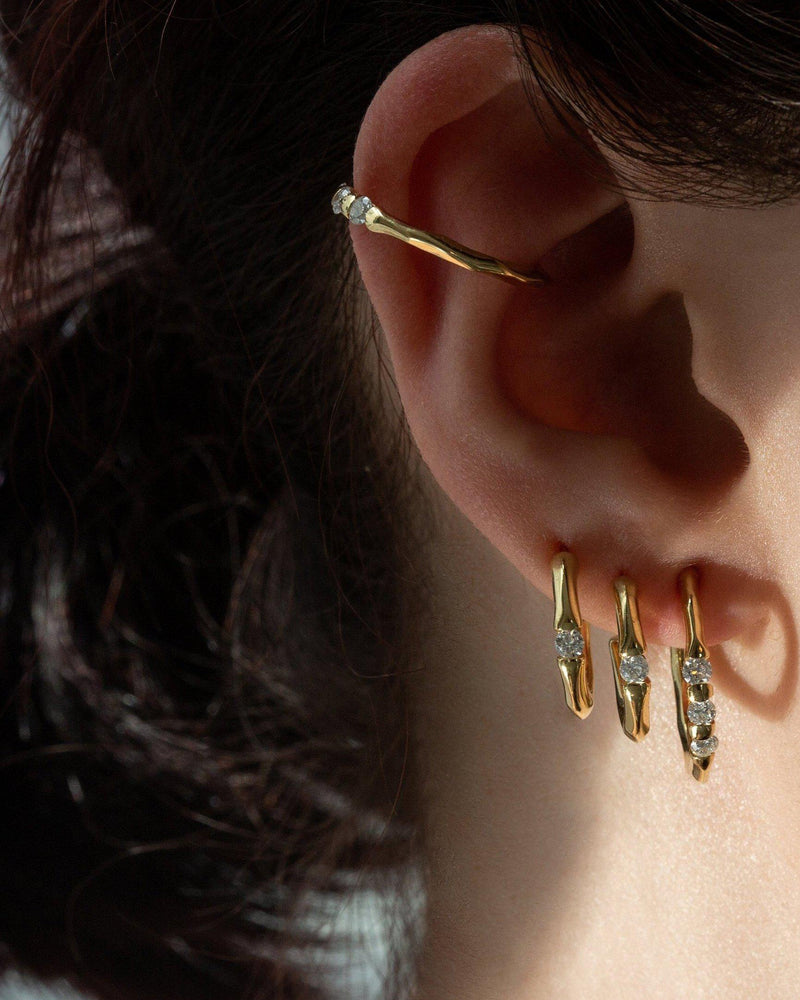 Mini Floating Stone Hoops