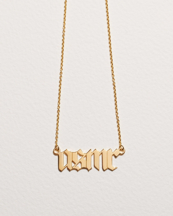 itsblitzzz gold asmr necklace