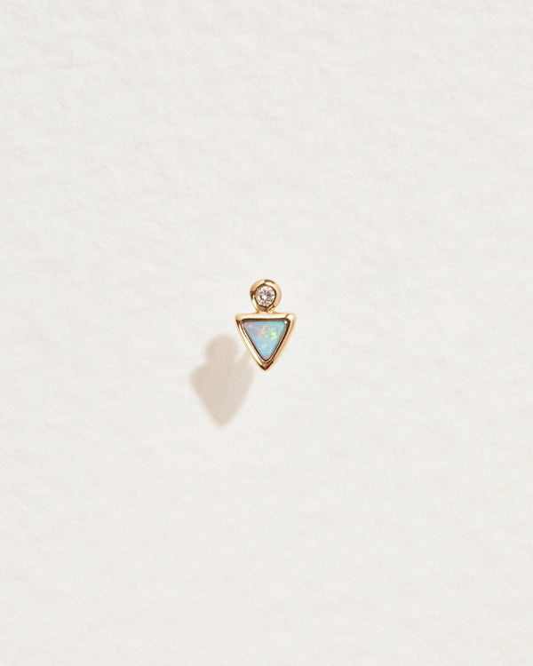 Triangle Dot Stud