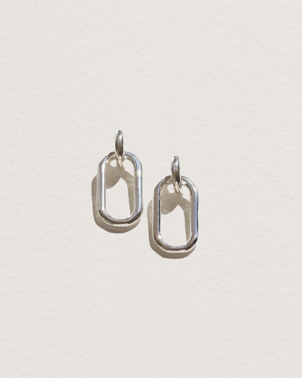 small beaumont earrings with sterling silver