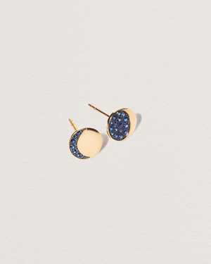 Mismatched Moon Phase Studs