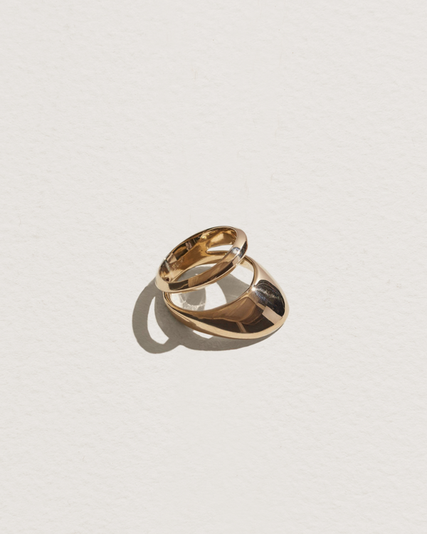 agnes ring with brass