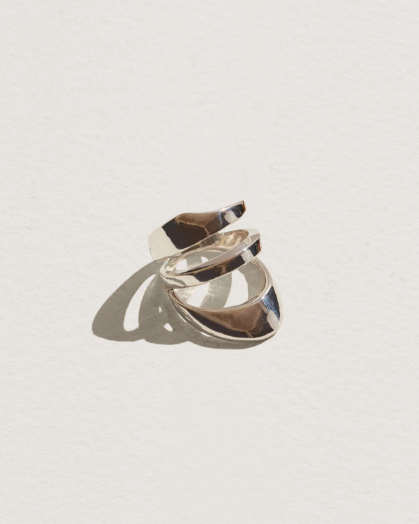 agnes - silver statement ring