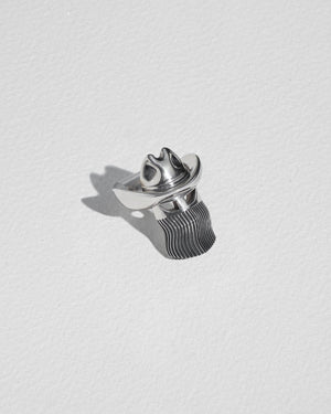 orville peck ring small with sterling silver