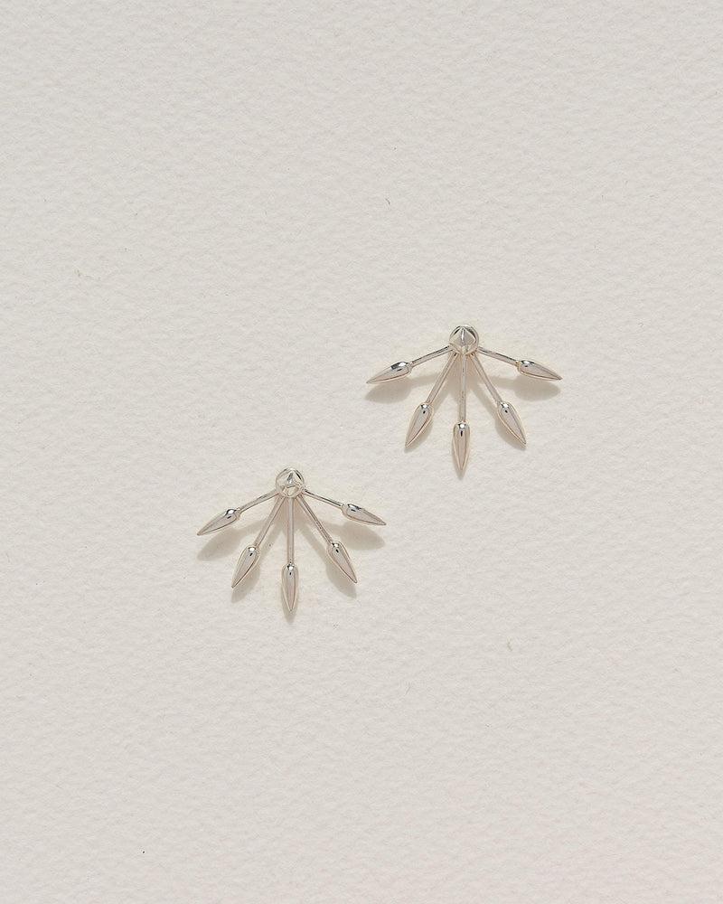 5 spike earrings