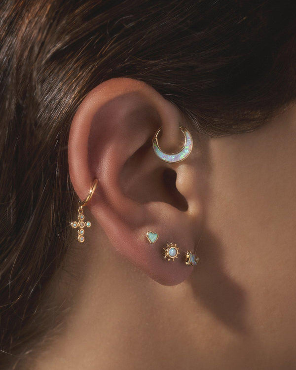 opal ear piercings by Pamela Love