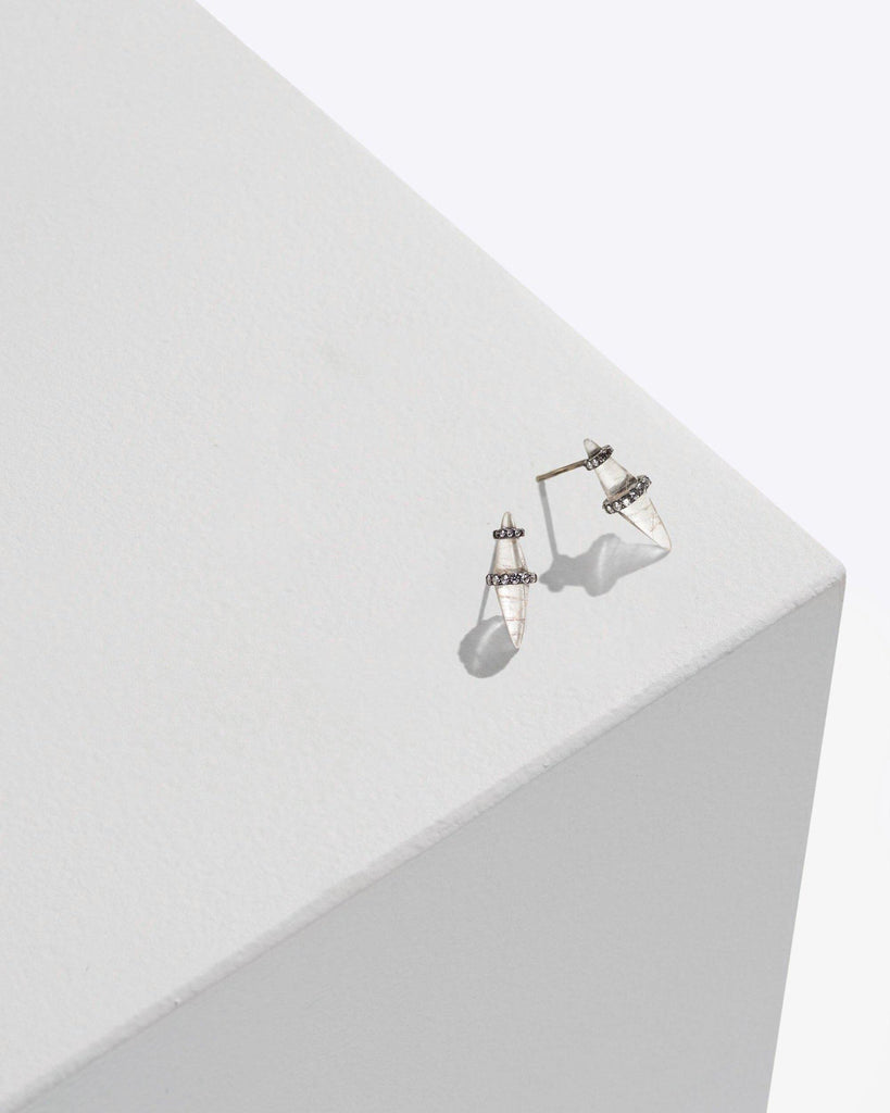 MPL Small Planetary Spike Earrings