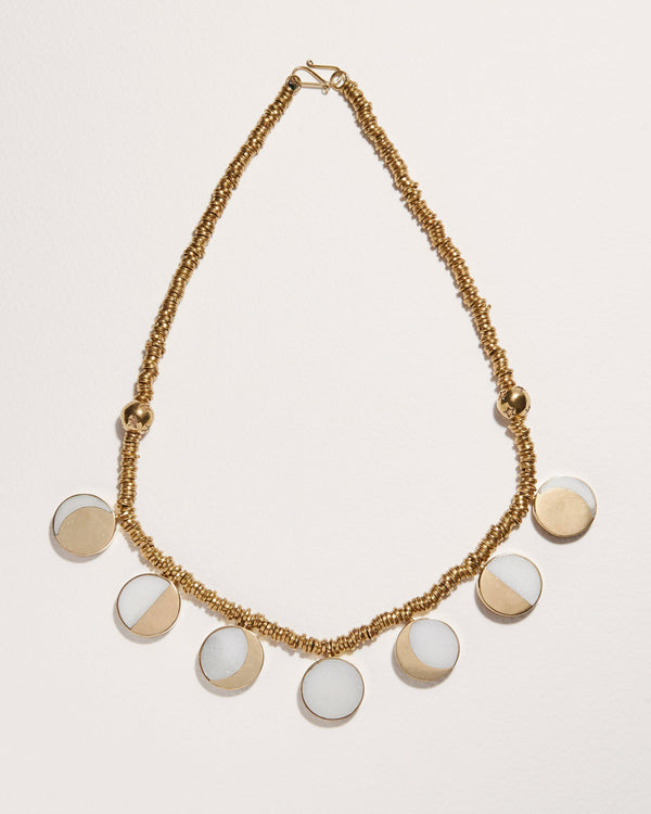 kyleigh kuhn moon phase necklace