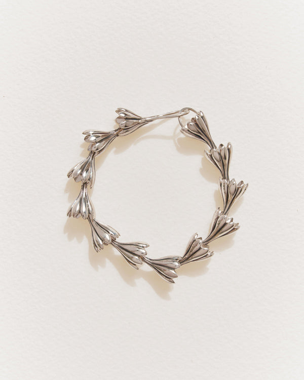 anemone bracelet with sterling silver