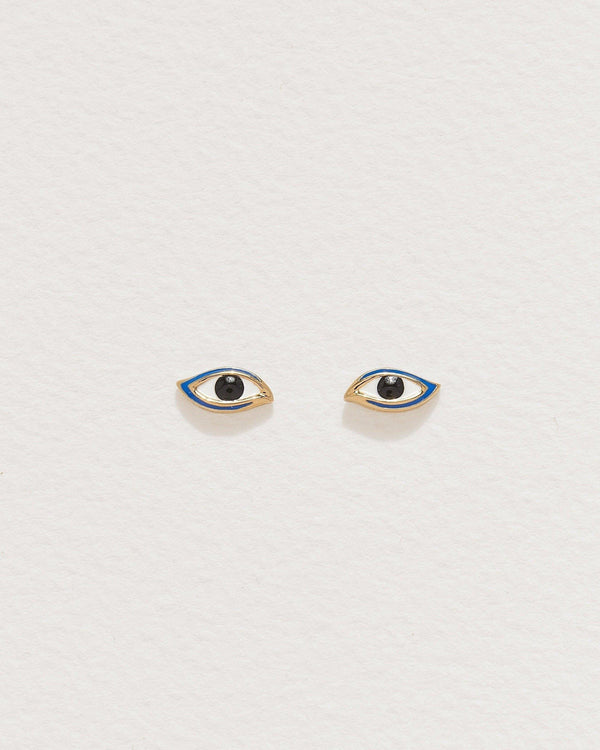 Enamel Eye Studs