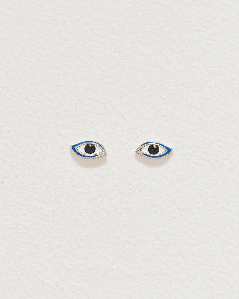 enamel eye stud piercings