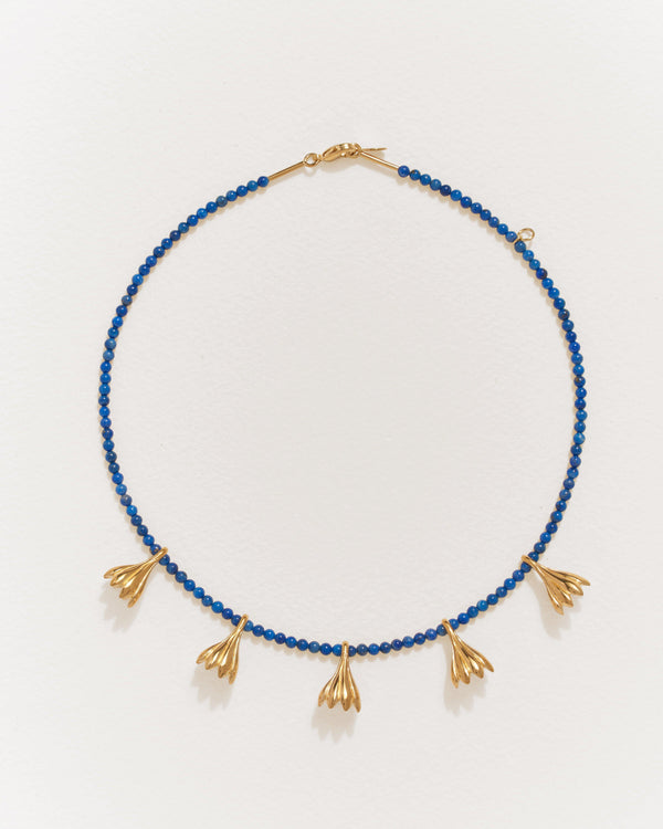 Anemone Lapis Necklace