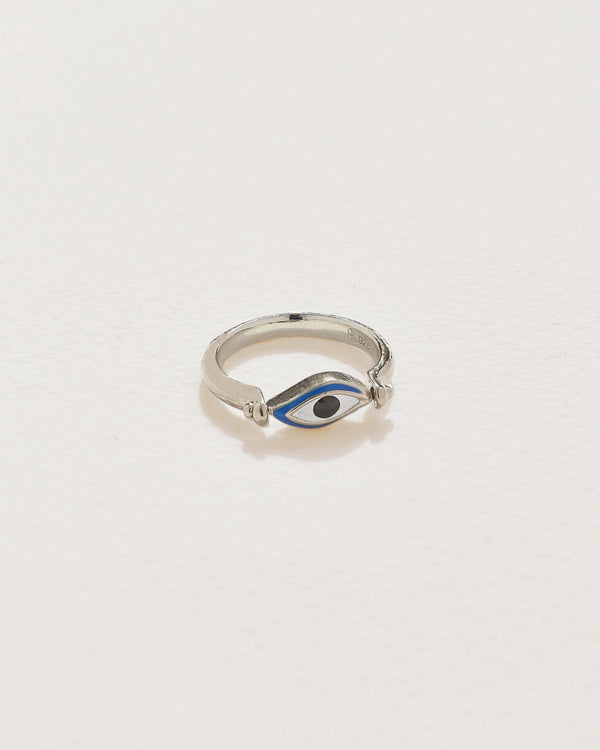Enamel Eye Ring