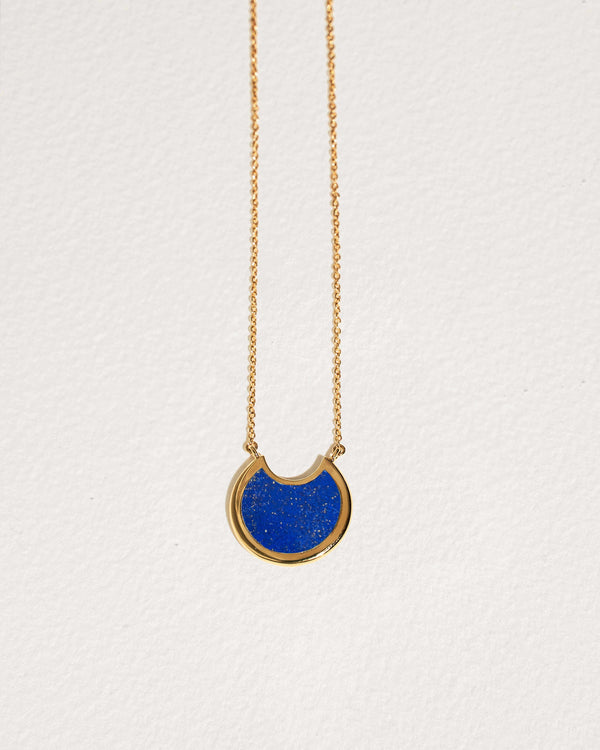 lapis mojave pendant necklace