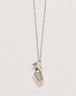 vessel pendant necklace with sterling silver