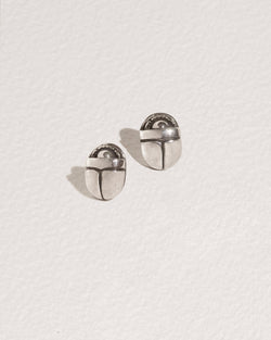 Small Scarab Studs