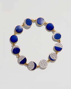Inlay Moon Phase Bracelet